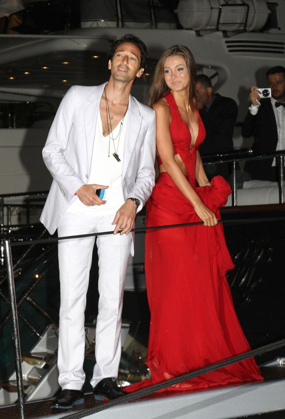 Adrien Brody und Lara Lieto