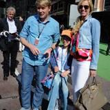 """Ex-""""Formel 1""""-Fahrer Mikka Häkkinen ist mit seiner Familie nach Monte Carlo gereist."""
