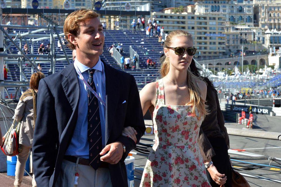 Pierre Casiraghi mit seiner Freundin Beatrice Borromeo