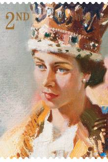 Am 2. Juni 1953 wird Königin Elizabeth II. offiziell gekrönt. Mit nur 26 Jahren tritt Prinzessin Elizabeth damit in die Fußstapfen ihres Vaters, der über ein Jahr zuvor verstorben war.  Alle Sonderbriefmarken sind jetzt im Handel erhältlich. Auf den weiteren Briefmarken sind Bilder der Queen aus verschiedenen Jahrzehnten ihrer Regentschaft zu sehen.