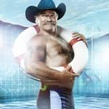 """Für die vier Shows von """"Die Pool Champions"""" kehrt Auswanderer Konny Reimann nach Deutschland zurück. Den """"Baywatch""""-Rettungsring hat er zur Sicherheit schon dabei."""