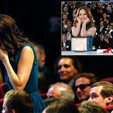 """Auch Berenice Bejo kann ihr Glück kaum fassen. Sie wird bei den diesjährigen Filmfestspielen zur """"Besten Schauspielerin"""" für ihre Leistung in dem Film """"Le Passé"""" ausgezeichnet."""