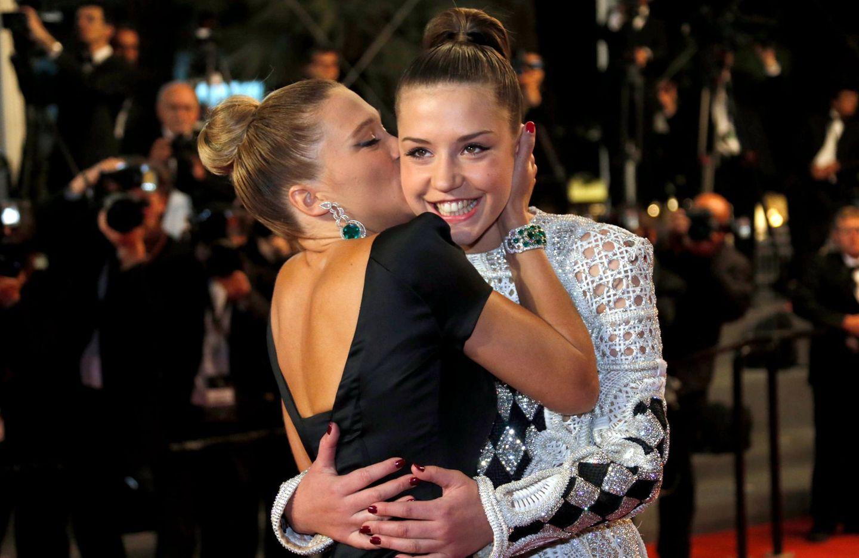 Lea Seydoux und Adele Exarchopoulos