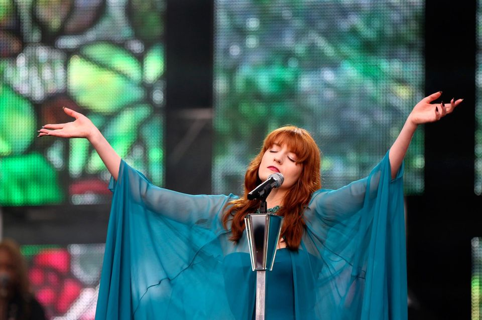 "Florence Welch von ""Florence and the Machine"""