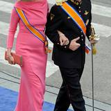 Das belgische Thronfolgerpaar: Mathilde und Philippe.