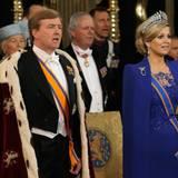 Über den Hermelin-Mantel, den König Willem-Alexander bei der Hulding trägt, hatte es im Vorfeld Diskussionen gegeben.