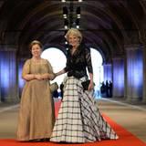 Die Schwestern von Königin Beatrix: Prinzessin Christina (l.) und Prinzessin Irene.