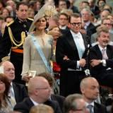 Kronprinzessin Victoria von Schweden in Begleitung von Ehemann Daniel.