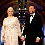 Prinzessin Mette-Marit und Prinz Haakon von Norwegen