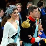 Sie strahlen: Prinzessin Mary und Prinz Frederik von Dänemark.