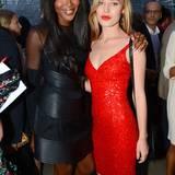 Modelkolleginnen Naomi Campbell und Georgia May Jagger verstehen sich bestens.