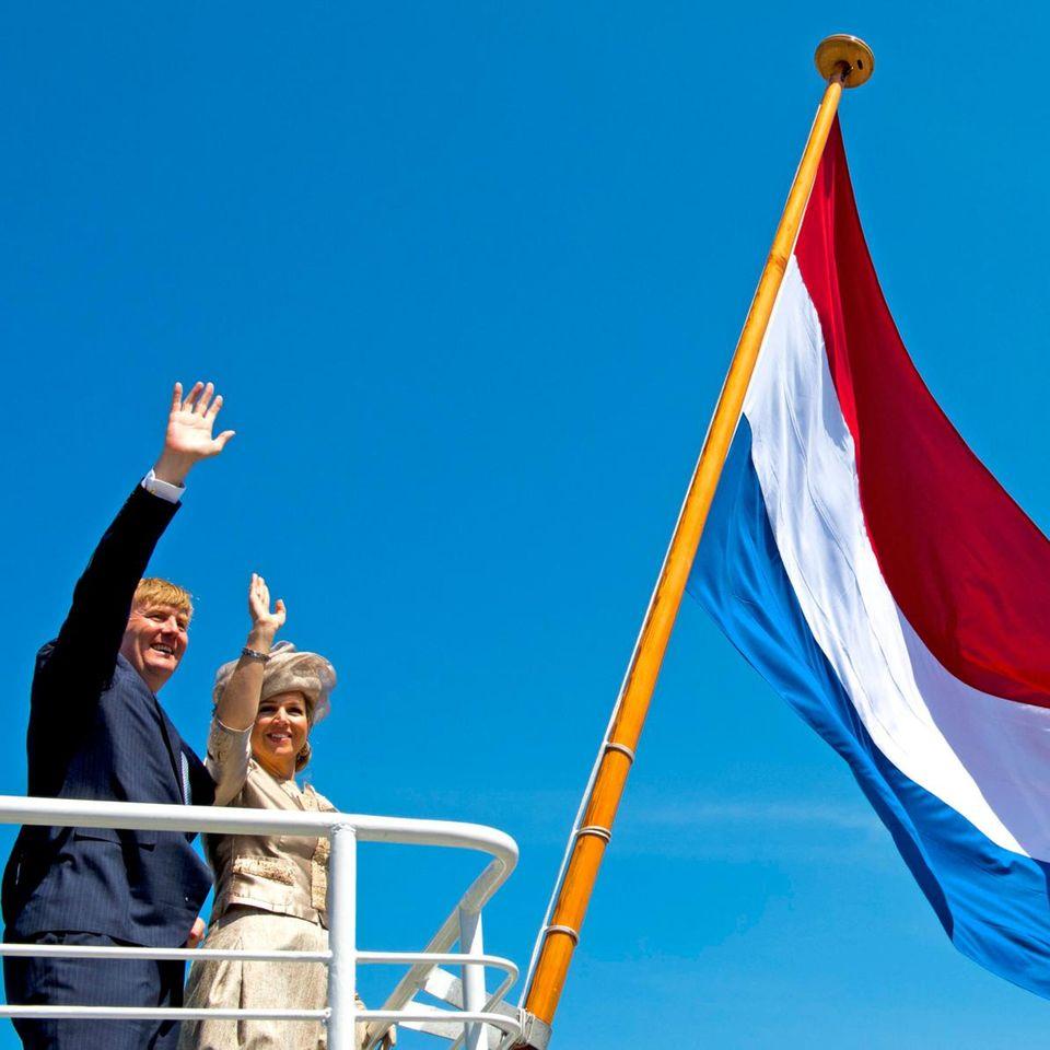 König Willem-Alexander und Königin Máxima