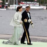 Ein glückliches Königspaar: Silvia und Carl Gustaf