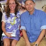 Ebenso wie Michi Beck mit seiner Frau Ulrike.