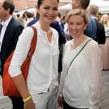 Konstanze Braun (Weleda) und Michaela Stein (P&G)