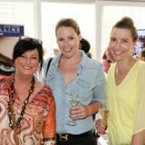 Martina Drewing (Drewing PR), Karen Dahl (YSL) und Anke Oberbrunner