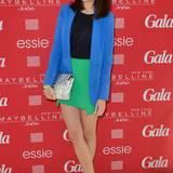 Nicht nur farblich ist Marie Nasemann beim GALA Fashion Brunch ein Hingucker