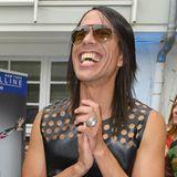 Jorge Gonzales und Mariella Ahrens haben beim GALA Fashion Brunch mächtig Spaß.