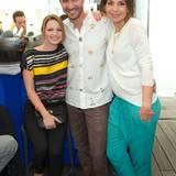 Tolles Trio: Jennifer Ulrich, Jochen Schropp und Nadine Warmuth