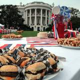 Barack Obama lässt uns per Twitter teilhaben, wie es am Nationalfeiertag im Weißen Haus zugeht.