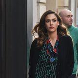 """Eigentlich ist die """"Kenzo x H&M""""-Kollektion erst ab dem 3. November in den Stores erhältlich. Hollywood-Beauty Jessica Alba darf die stylischen Teile der beliebten Designer-Kooperation bereits jetzt tragen. Den günstigen Preis sieht man ihrem Kleid überhaupt nicht an - ganz im Gegenteil."""