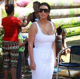 kim kardashian im american apparel kleid