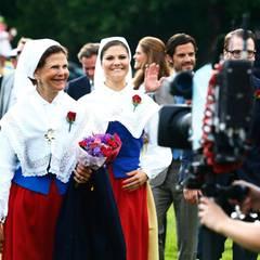 Königin Silvia und Prinzessin Victoria