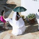 Wenn zwei Comedians heiraten, ist soetwas wohl vorprogrammiert: Schauspielerin Gabourey Sidibe gibt sich offenbar als die Braut aus und schreitet geradewegs zum Altar.