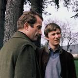 1978   Vater und Sohn beim 18ten Geburtstag von Philippe: Nach seinem Abitur besuchte der Prinz die Königliche Militärschule und absolvierte eine Ausbildung zum Kampfpiloten.