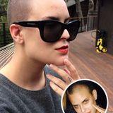 Tallulah Willis hat sich, ganz wie einst ihre Mutter Demi Moore, eine Glatze rasieren lassen. Dadurch kommen ihre feinen Gesichtszüge und leichtenden, grün-blauen Augen noch mehr zur Geltung.