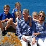 Jetzt kann sich belgische Königsfamilie noch ein wenig entspannen und ihren Urlaub genießen, bis es mit offiziellen Terminen in der Heimat weitergeht.