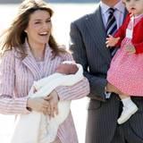 2007: Ein Schwesterchen für Leonor - Prinzessin Sofia ist die zweite Tochter von Spaniens Kronprinz Felipe und seiner Frau Letizia.