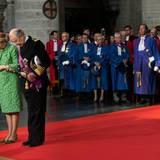 Königin Paola und König Albert II