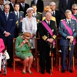 Königin Paola ist zu Tränen gerührt.