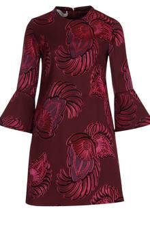 Asiatisch angehaucht ist das Kleid von Stella McCartney, über www.reyerlooks.com, ca. 1100 Euro