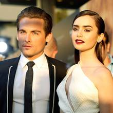 Kevin Zegers und Lily Collins