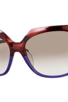 Damit man nicht vom Luxus geblendet wird: Sonnenbrille von Robert la Roche, ca. 220 Euro
