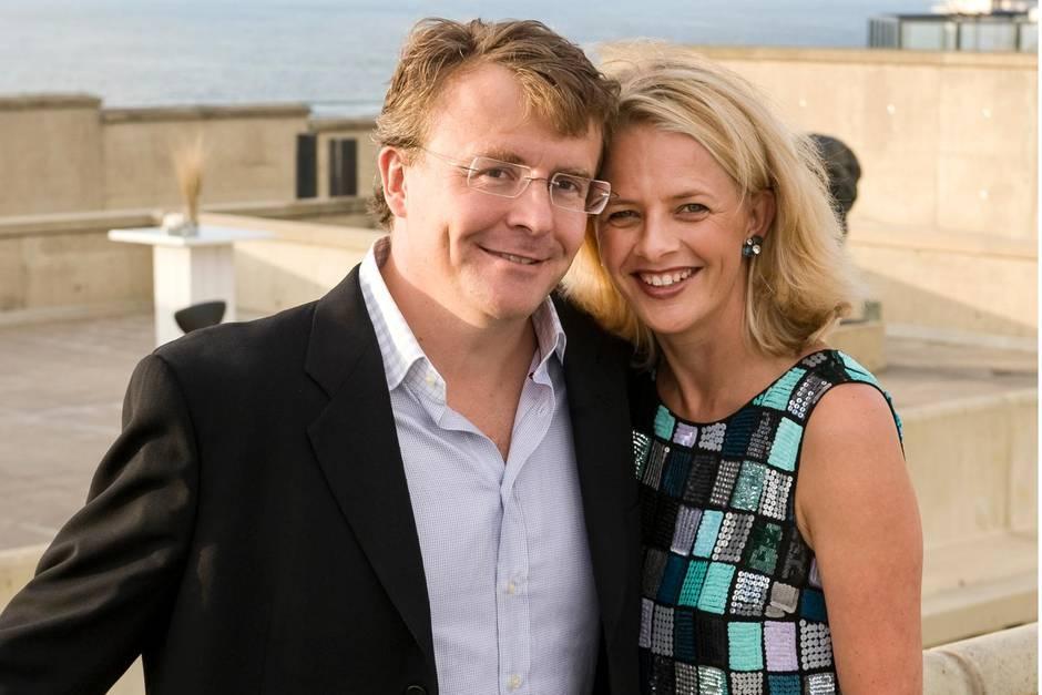 Prinz Friso mit seiner Ehefrau Mabel im Jahr 2008.