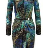 Anzeige: Für den Großstadtdschungel: Buntgemustertes Kleid mit Animalprint und gerafftem Einsatz in der Taille. Von Vince Camuto, ca. 149€.