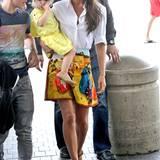 Bei so einer stilsicheren Mutter wurde Klein-Harper die Modeleidenschaft schon in die Wiege gelegt. Victoria Beckham liebt es, ihre Outfits mit denen ihrer kleinen Prinzessin abzustimmen.