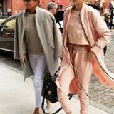 Sportlich, dabei aber elegant: Diesen Style-Trick hat Topmodel Gigi Hadid wohl von ihrer Mutter Yolanda Foster gelernt.