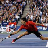 Nach vier Sätzen muss sich Novak Djokovic geschlagen geben.
