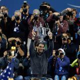 Der Spanier Rafael Nadal gewinnt die US Open.