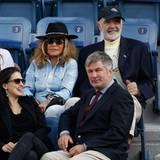 Sean Connery mit seiner Frau Micheline Roquebrune und Alec Baldwin mit seiner Frau Hilaria Thomas