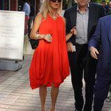 Goldie Hawn kommt in Flushing Maedows an.