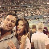 Ricky Martin und Eva Longoria