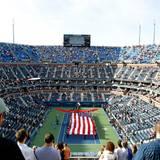 Das Arthur Ashe Stadion ist der Centre Court der US Open.