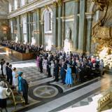Noch vor drei Monaten haben Prinzessin Madeleine und Chris O'Neill in der Kirche ihre Hochzeit gefeiert.