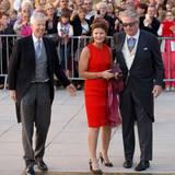 Auch Prinz Laurent von Belgien (rechts) gehört zu den Hochzeitsgästen, ebenso wie Prinzessin Margaretha und Prinz Nikolaus von Liechtenstein. Die Prinzessin ist die Schwester von Großherzog Henri.