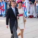 Hochzeit in Luxemburg: Erzherzog Christoph von Österreich ist ein Cousin des Bräutigams. Er und seine Frau, Erzherzogin Adélaïde, sind seit Dezember 2012 verheiratet.